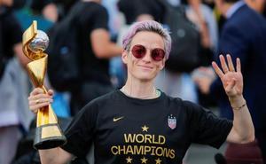 Rapinoe espera un acuerdo pero sigue firme en su demanda por discriminación contra la US Soccer