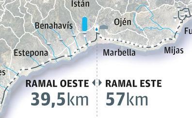 La Costa renovará la gran tubería de agua, de cien kilómetros y que registra más de 50 roturas al año
