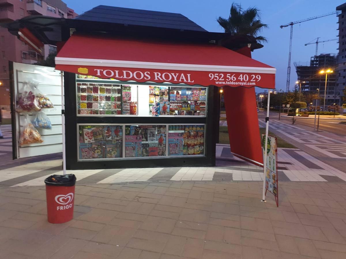 Kiosco sin luz durante meses en Teatinos