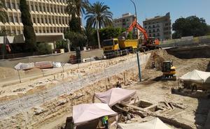La Junta rescata nuevos restos arqueológicos en las obras del metro