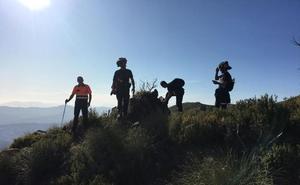 Localizan a un senderista que se había perdido en la Sierra Tejeda