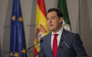 Juanma Moreno ve «muy buena noticia» para Andalucía el acuerdo del brexit