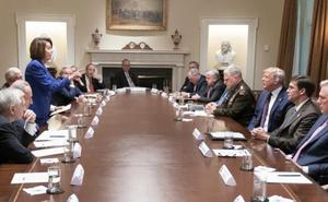 El presidente de EE UU pierde los nervios ante las críticas del Congreso a la retirada de tropas de Siria