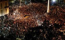 Los Mossos creen que un millón de personas secundarán hoy la huelga general
