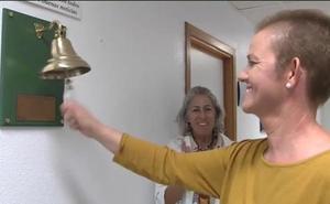La campana que anuncia batallas ganadas al cáncer