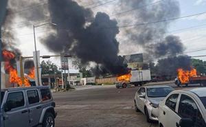 La detención de un hijo de 'El Chapo' desata el caos en Culiacán