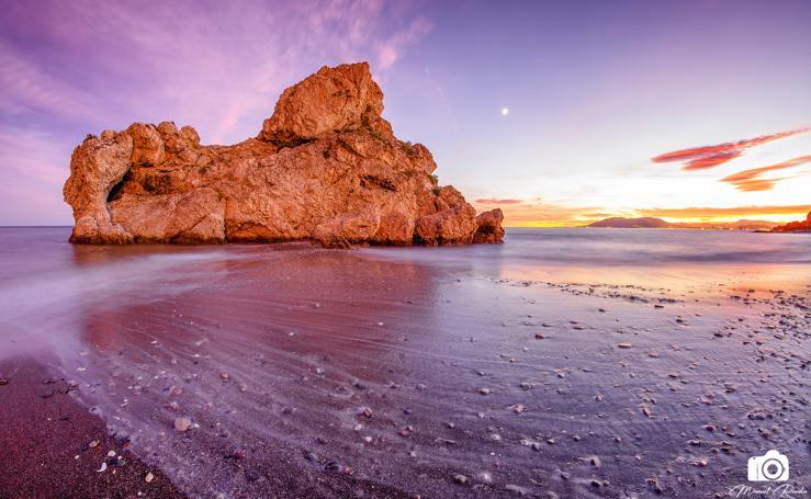 Transfiguración junto al mar en el Peñón del Cuervo