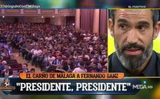 Fernando Sanz: «Me siento culpable de la situación del Málaga»