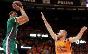 Recital defensivo del Unicaja para ganar en Valencia (63-79)