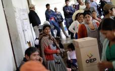 Comienza en Bolivia el recuento de las elecciones presidenciales y legislativas