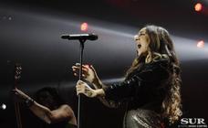 Mónica Naranjo llena el Carpena y ofrece una noche apoteósica y sinfónica