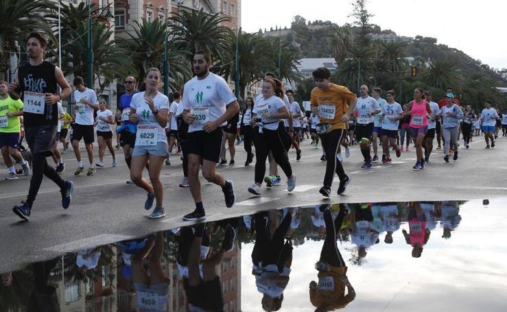 Así fue la Carrera Urbana Ciudad de Málaga, en imágenes