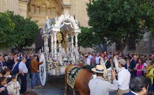 Fervor rociero por las calles de Málaga en pleno octubre