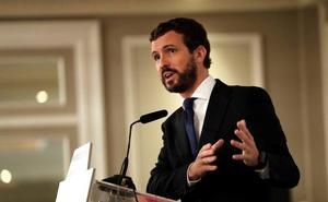 Casado pide al Gobierno que estudie trasladar fuera de Cataluña a los presos del 'procés'