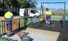 Alhaurín el Grande inicia un plan para adaptar los parques infantiles a la normativa