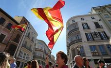 Málaga alza la voz por la unidad de España y la convivencia