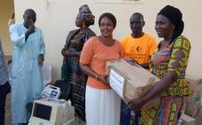 La fundación Luna Nueva abre una ruta solidaria de Coín a Senegal