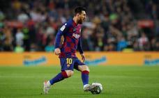 Messi fabrica una cómoda goleada al Valladolid
