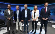 Los cinco candidatos por Málaga arrancan la campaña en SUR y 101TV
