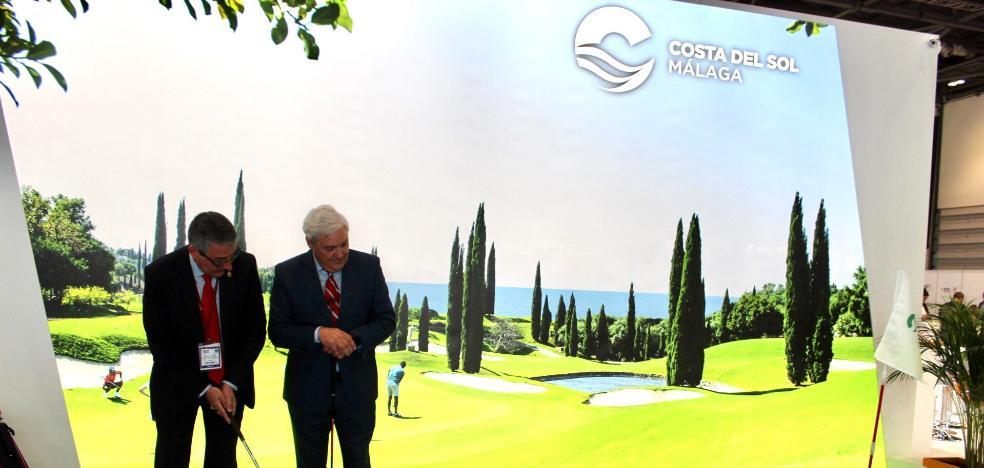 Rincón de la Victoria reinforces its commitment to golf at the WTM fair in London