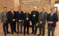 La Agrupación de Cofradías acude al Vaticano para dar a conocer el centenario de su fundación