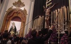 Bendicen la imagen del Cristo de la Victoria para la Hermandad de la Santa Cruz