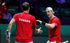 Canadá ya espera en la final de la Davis