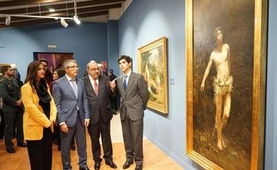 Coín salda su deuda con Reyna Manescau, su pintor universal