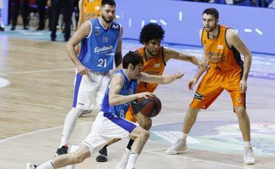 El Valencia, sin opciones sobre Brizuela