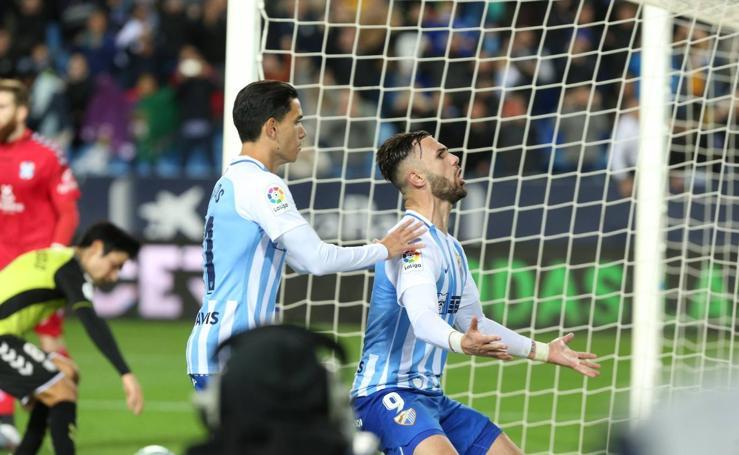 El Málaga gana en casa al Tenerife