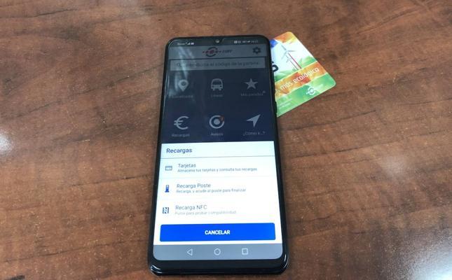 Recarga la tarjeta bus desde el móvil de manera rápida, cómoda y sencilla con la App de EMT