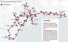 El maratón y las luces vuelven a poner a prueba el tráfico en el Centro de Málaga
