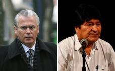Evo Morales ficha a Baltasar Garzón como abogado