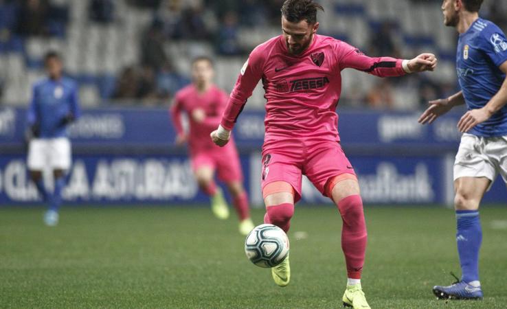 El Málaga se trae un punto de Oviedo