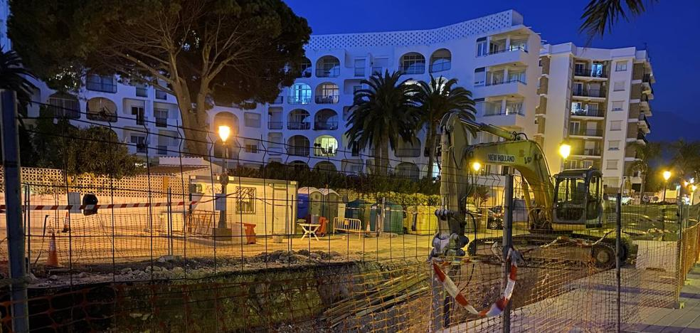 The Nerja treatment plant faces a key year for its commissioning