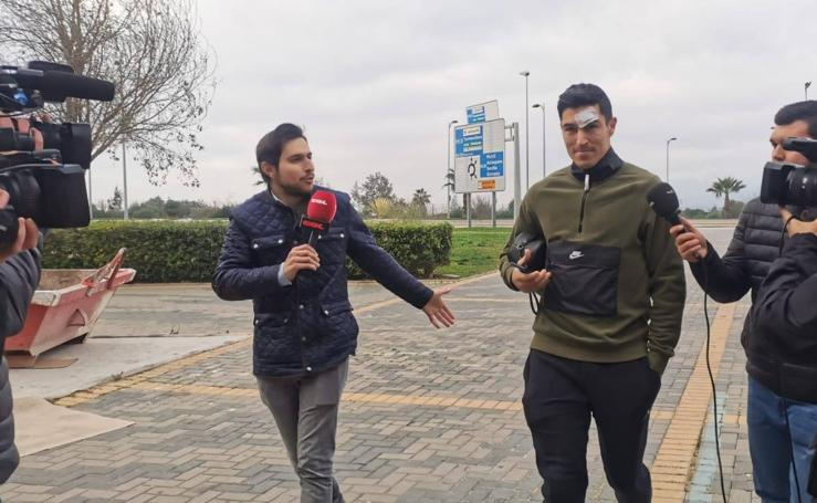 Ley del silencio entre los jugadores del Málaga tras el caso Víctor