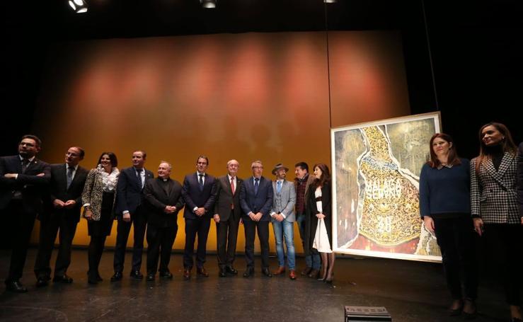 Presentación del cartel de la Semana Santa de Málaga 2020