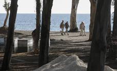El nuevo parque en el antiguo 'camping' de los Baños del Carmen, en imágenes