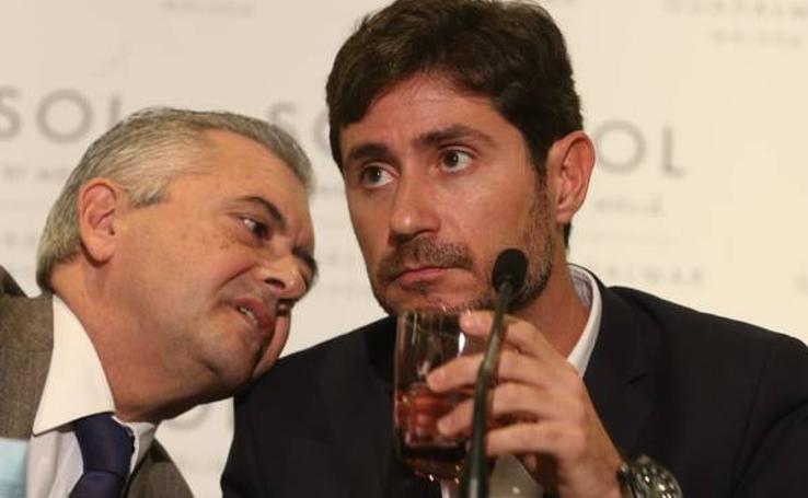 Víctor Sánchez del Amo comparece ante los medios tras dejar de ser entrenador del Málaga