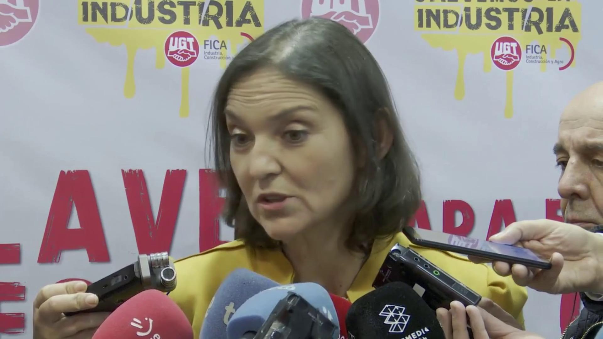 """Reyes Maroto cree que el MWC en Barcelona tiene """"presente y futuro"""""""