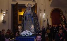 Traslados de las cofradías por el cierre de la iglesia de los Santos Mártires