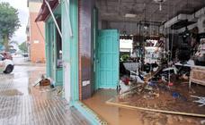 Las fuertes lluvias de esta noche en Málaga, en imágenes: Campanillas se lleva la peor parte
