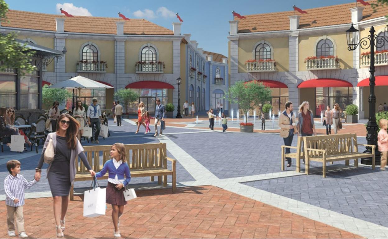 Marinero Campo de minas Cabeza  Así es el 'outlet' de lujo de Plaza Mayor: 100 tiendas y cuatro negocios de  hostelería   Diario Sur