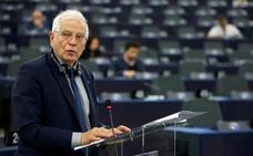 Borrell carga contra Ciudadanos, PP y Vox por llevar el 'caso Ábalos' a la Eurocámara
