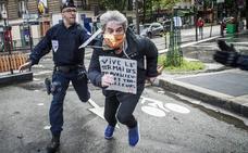 Detenciones y escarceos en las descentralizadas protestas de Alemania