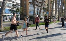 Cosas que se han hecho bien y mal en la primera jornada de deporte y paseo en Málaga