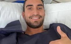 Jaime Fernández es operado de los dos talones y estará al menos seis meses de baja