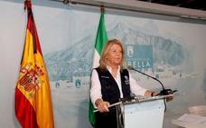 La alcaldesa de Marbella, indignada con la decisión del Gobierno sobre Málaga