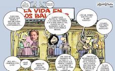 La Málaga de los balcones, según Idígoras y Pachi (10 de mayo)