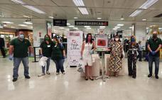 La Esperanza se suma a la campaña 'Aguja solidaria' de recogida de alimentos